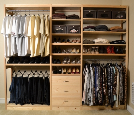Wood Closet Systems Toxic Free